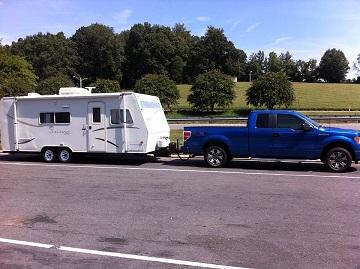 Camper setup day 1