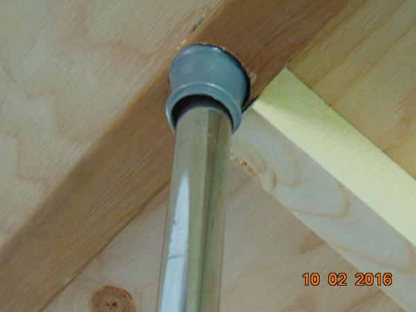 Spring loaded tension rod used to hold up bed .... added support side to side, than drilled the hole for the rod