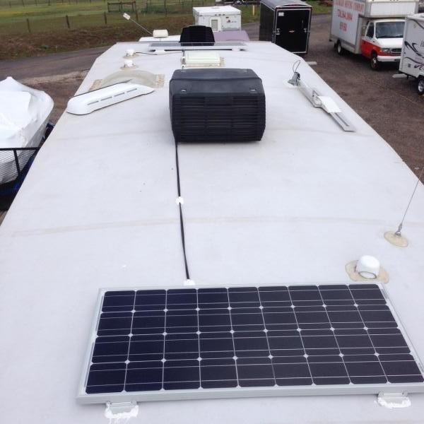 (2) 100 WATT SOLAR PANELS