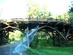 This is an example of the many wooden pigtail bridges on the Norbeck Highway.  Each bridge is constructed a little differently and is part of the...