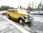 The open top antique Yellow buses are a fantastic way, especially if you are normally the driver, to be able to take in Yellowstone Park.  Old...