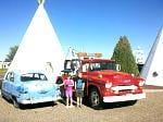 """Holbrook Arizona is where John Lasseter and crew gained all of their inspiration as a route 66 stop to produce the animated hit, """"Cars"""".  This is the..."""