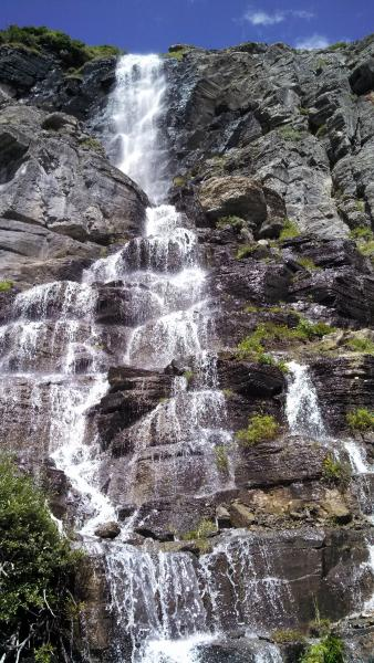 There are countless waterfalls in the park and many that are unnamed.