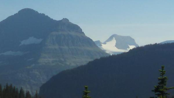 2014 - View of Jackson Glacier from the East side of Going to the Sun Road.