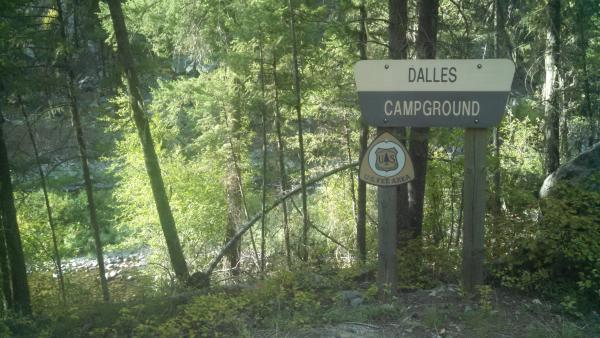 Labor Day Weekend 2014 - Dalles Creek Campground.