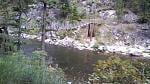 Welcome Creek Trailhead bridge.