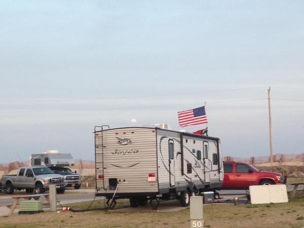 Camp Hatteras Campground, Rodanth NC