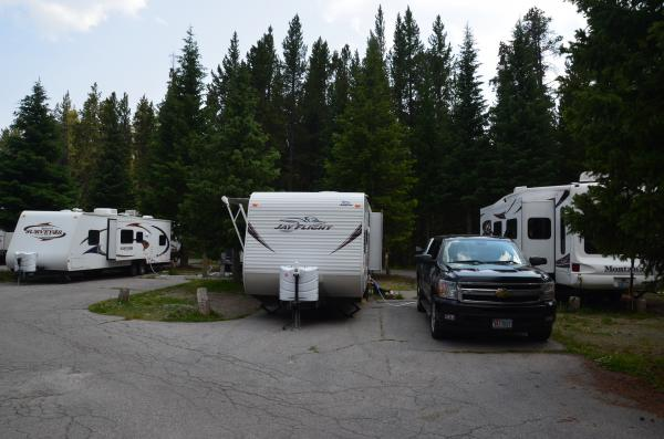 Yellowstone Fishing Bridge RV park 2