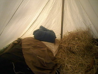"My ""A"" tent @ Nesheminy, Pa."
