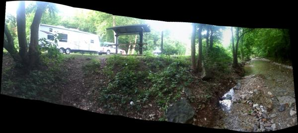 roaring river camp ground. never new they had such nice sites.