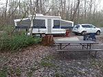 Our Jayco 1206 - May 2014  At Starved Rock State Park (IL)