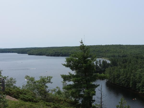 Another View from the trail that runs along the top of Mazinaw Rock