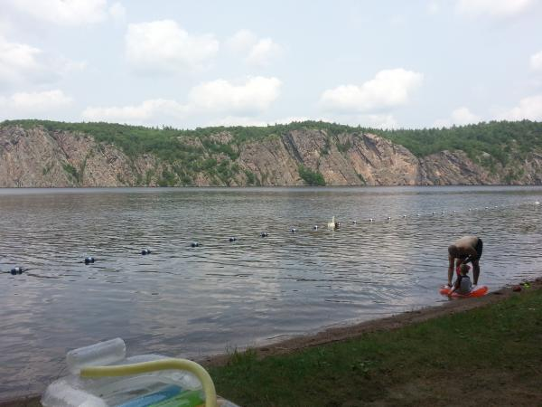 Nice day to see Mazinaw Rock