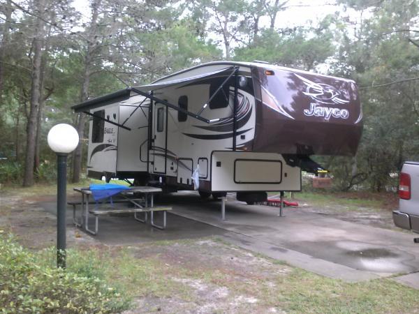 First setup at Topsail Hill Florida.