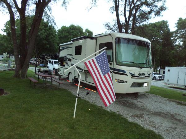 """4th of July 2015. Camp A Way, Lincoln, NE Highlight: Seward, NE """"America's Official Fourth of July City"""""""