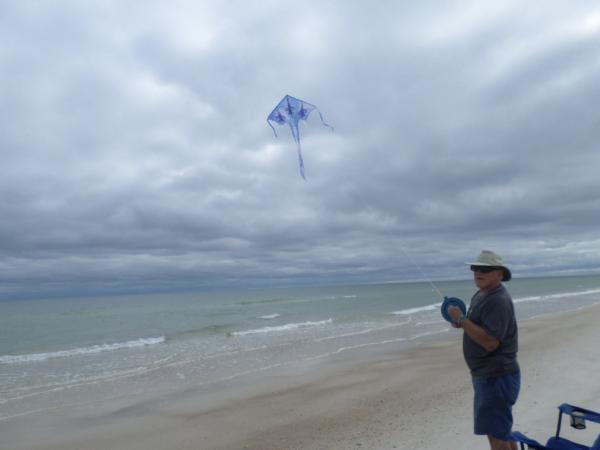 "Carrabelle Beach, FL.  ""The Blue Angels"" flying high. Oct.2015"