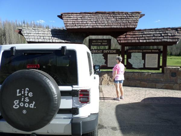 July 2016, Wolf Creek Pass, 10857' CO US 160