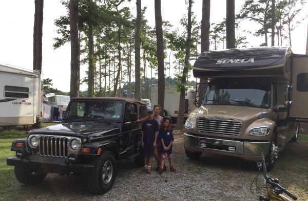 Jeep and Seneca: Great combination!