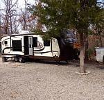 The Swamp Eagle set up at fish camp. 2-15