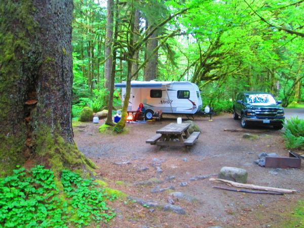 Mt Baker-Snoqualmie National Forest Campground Verlot,Wa. 5-27-15