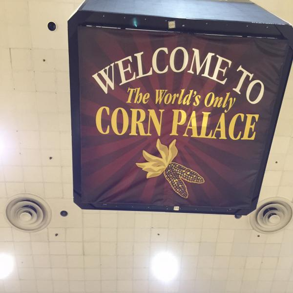 Visit to the Corn Palace, Mitchell, SD