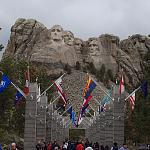 Mount Rushmore on Memorial Day 2015.