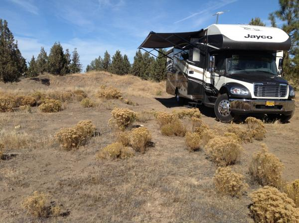 Boon docking at the ranch in Sisters Oregon