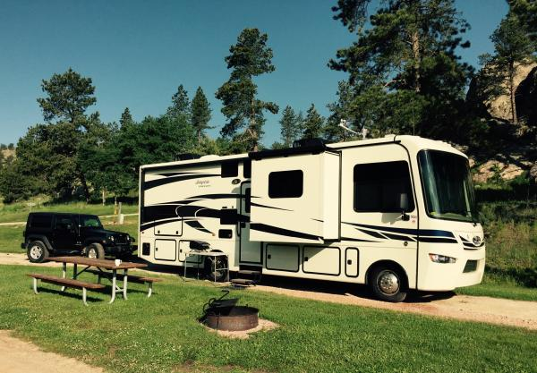 Camping in the Black Hills July 2015