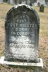 Hiester Yost 1710; Bern, Berks, Pennsylvania, USA  The ancestor who kick-started my genealogy obsession/hobby