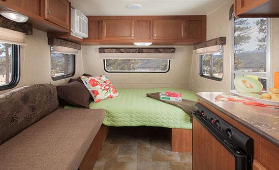 2015 Jayco SLX 184BH - interior