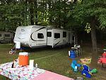 Jellystone Campground NH 2015