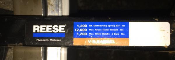 Reese Straitline spring bars 1200