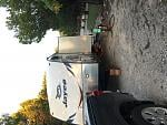 Thousand Trails Campground. (Sorry it's sideways)