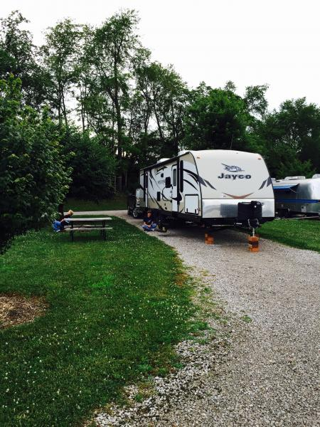 Cave Country RVCampground in Cave City, Kentucky. Very nice place!!