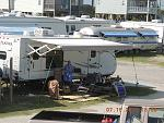 Our 5th camper, 2012 JayFeather 24'  at Surf City, N.C.  Used until 2015