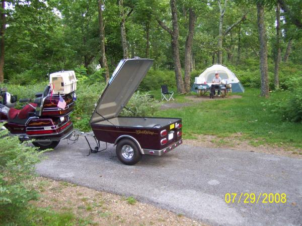 2008-Back to tent camping after a 16 year break.
