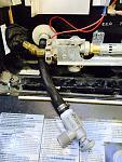 Water heater drain valve.