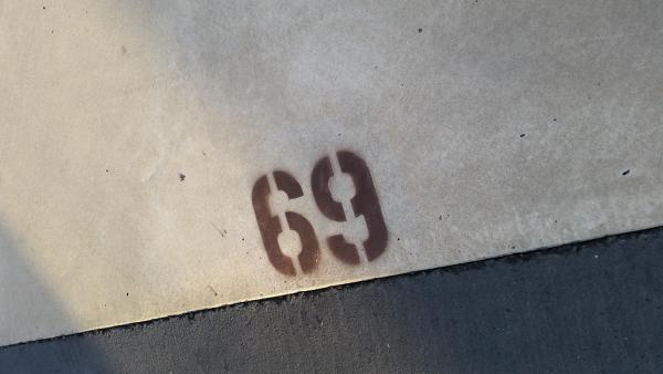 Had site number 69