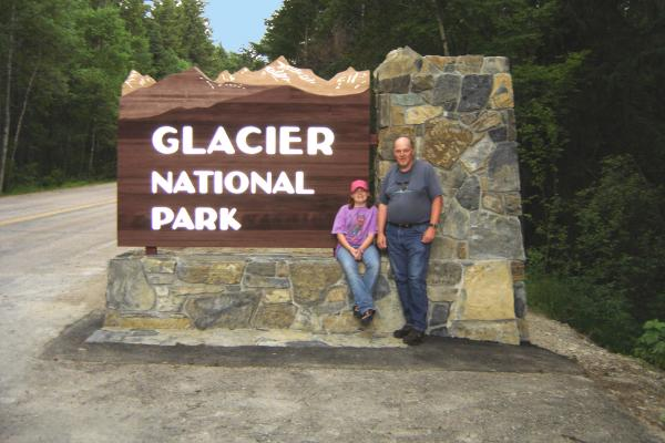 Glacier NP Entrance