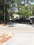 In our 2015 Eagle 339 FLQS at Disneys Fort Wilderness Campground. This is the best campground.