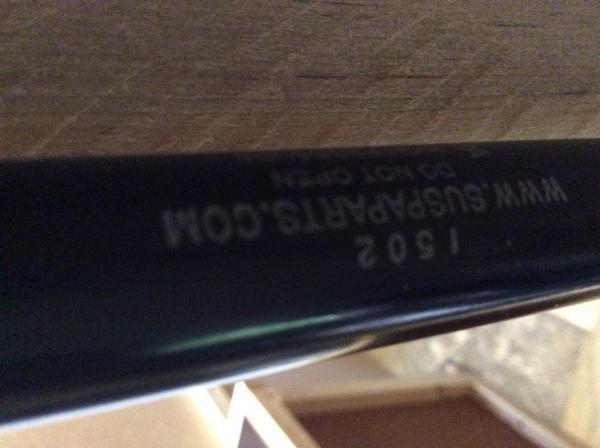 Strut label
