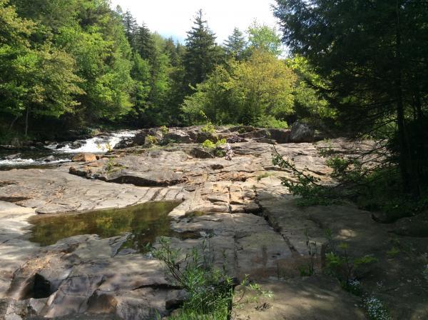 Crandall's Falls on The Little Black Creek