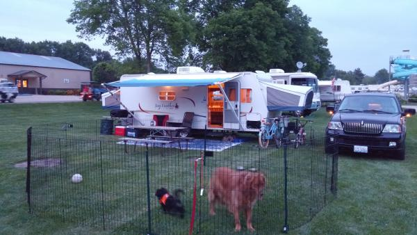 Set up camp.