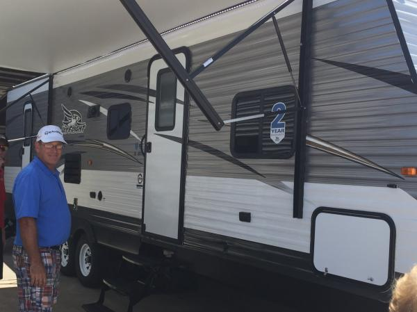 Picking up our first RV....on Fathers Day weekend, no less.