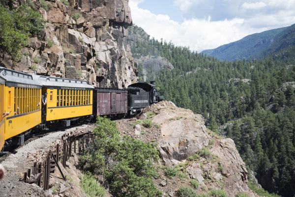 Durango-Silverton train ride