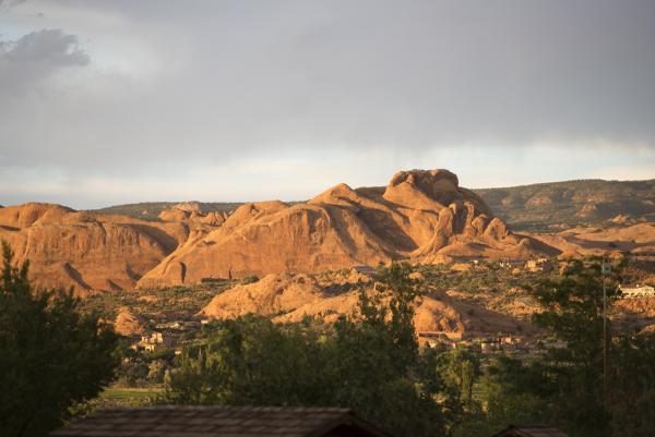 After thunderstorm (KOA) in Moab UT