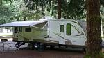 P1000769 Camping at Lake Riffe in Wa.