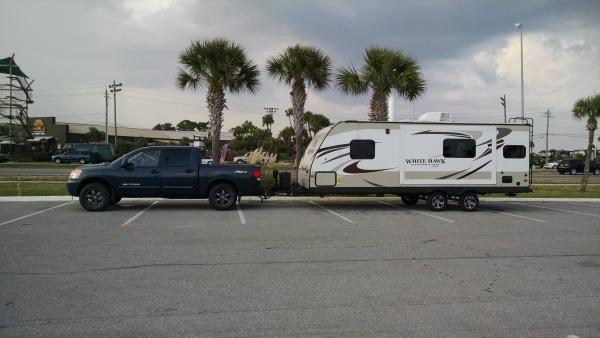 My first trip out in the Jayco. Tennessee to Destin, Florida