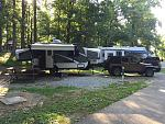 Start of another great weekend - Muddy Run Campground, Holtwood, PA.