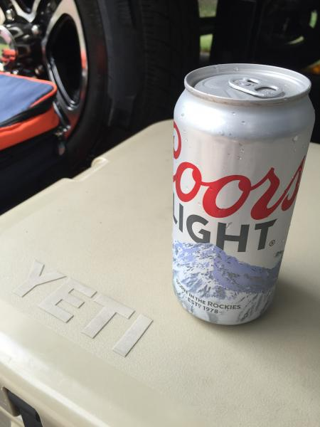 """""""yeti 110 iced down with some silver bullets"""""""